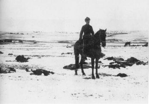 7th cavalry at Wounded Knee